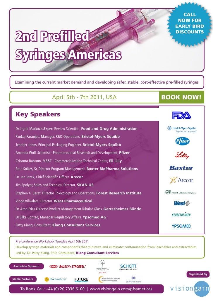 2nd prefilled syringes americas (2011)
