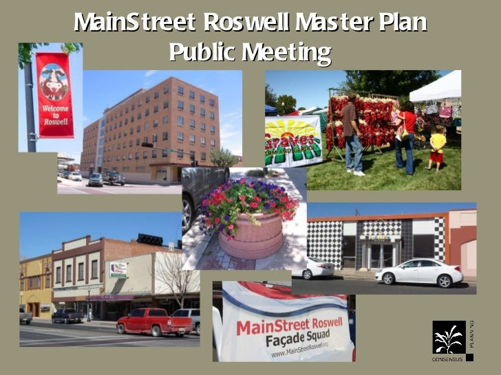 MainStreet Roswell Master Plan Public Meeting