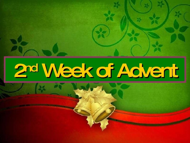2nd Sunday Of Advent Year C