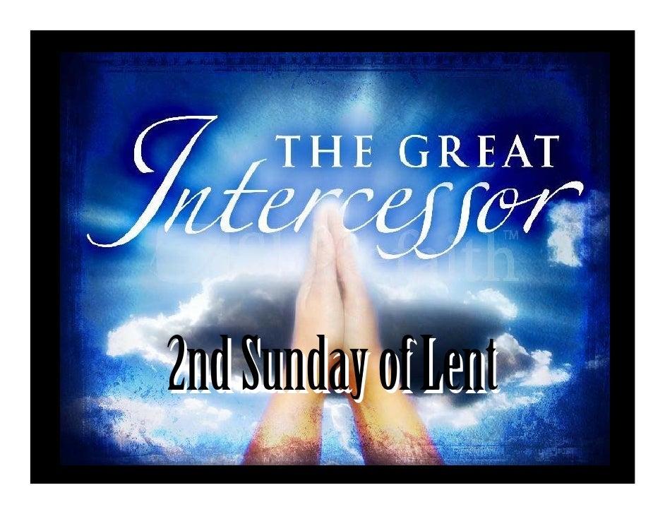 2nd  Sunday Of  Lent    Feb 28  P D F