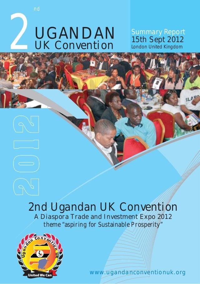 2nd uganda uk convention_report_2012