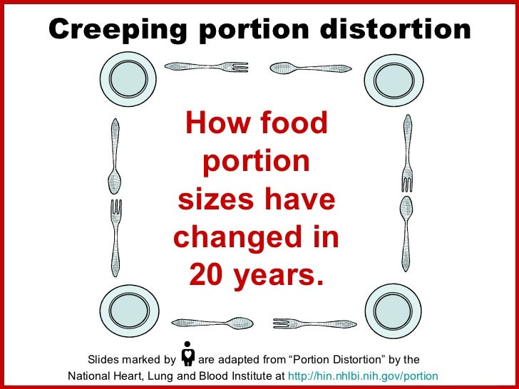 Portion sizes: how much food per person should we actually be eating
