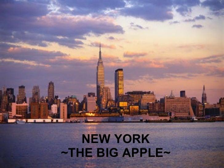 NEW YORK ~THE BIG APPLE~