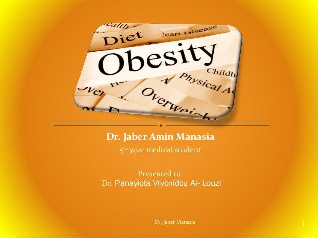 obesity   jaber amin