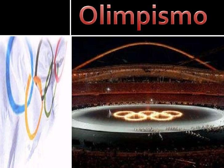 Olimpismo<br />
