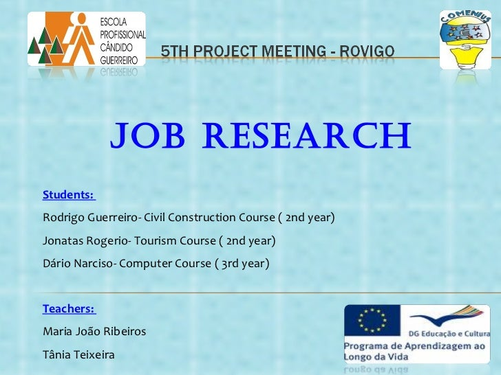 The job market in the Algarve