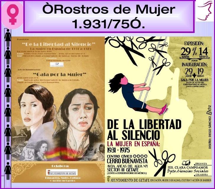 """"""" Rostros de Mujer 1.931/75""""."""