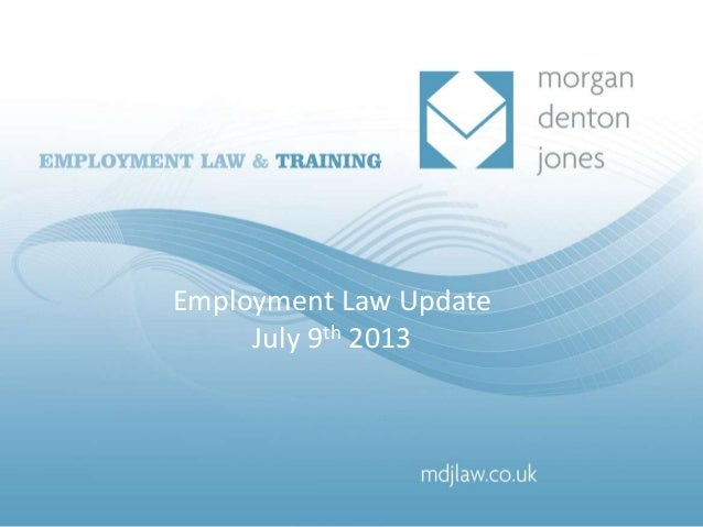 Achieving fair dismissals and protecting yourself Anna Denton and Jenny Jones 27th November 2007 Employment Law Update Jul...