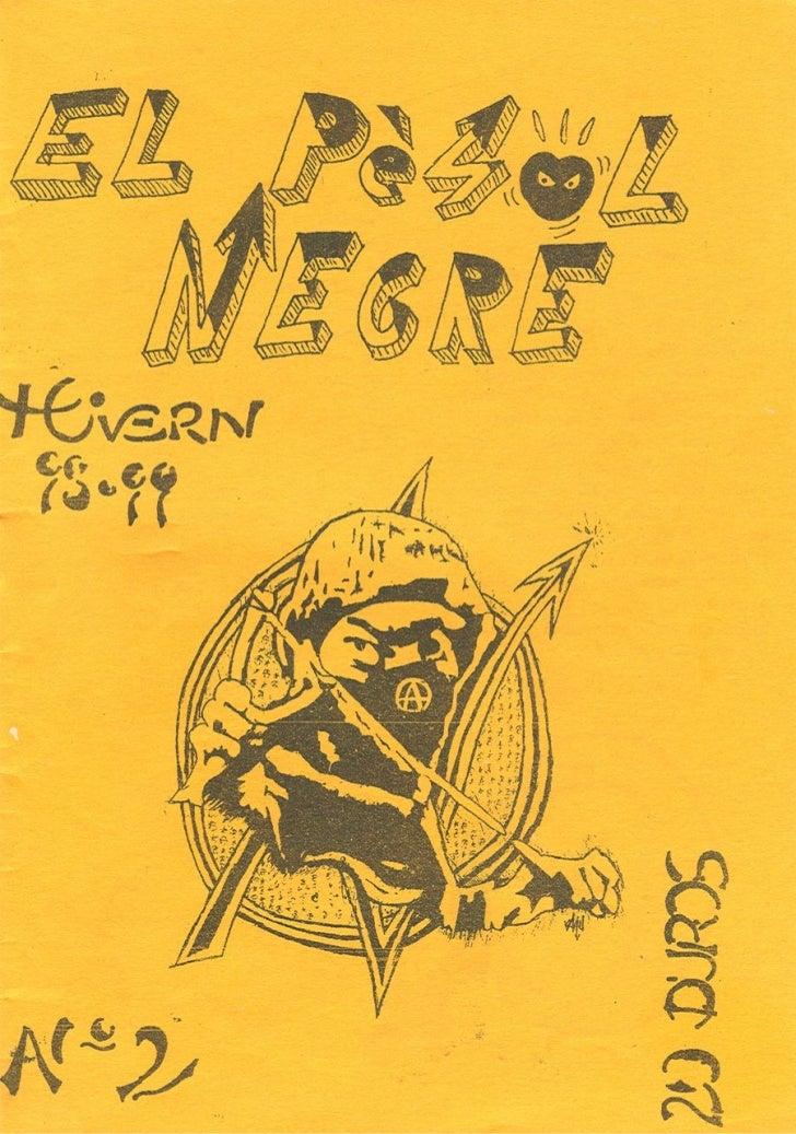 El pèsol Negre. Número 2. Hivern 1998 (1a època)