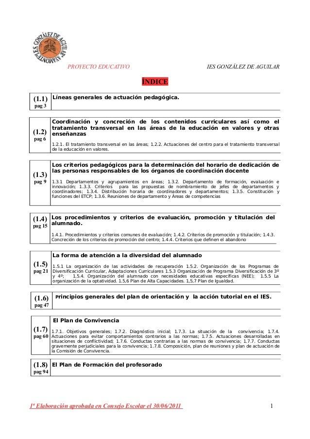proyecto educativo 2012-13