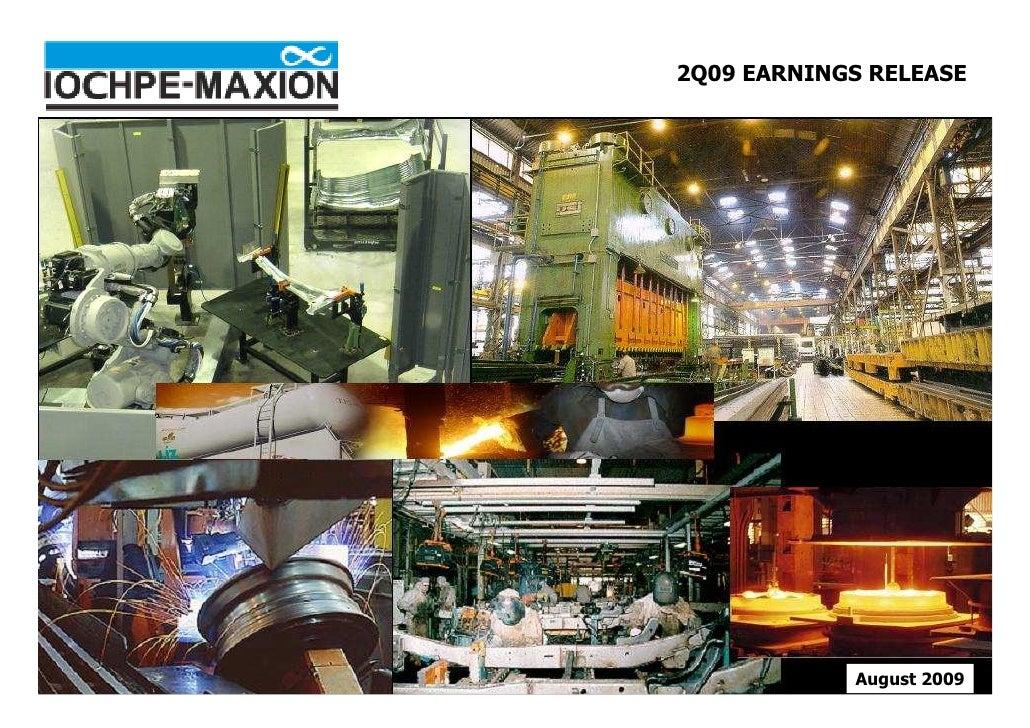 Iochpe-Maxion - 2Q09 Presentation