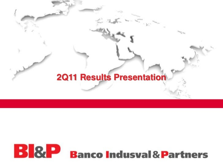 2Q11 Results Presentation