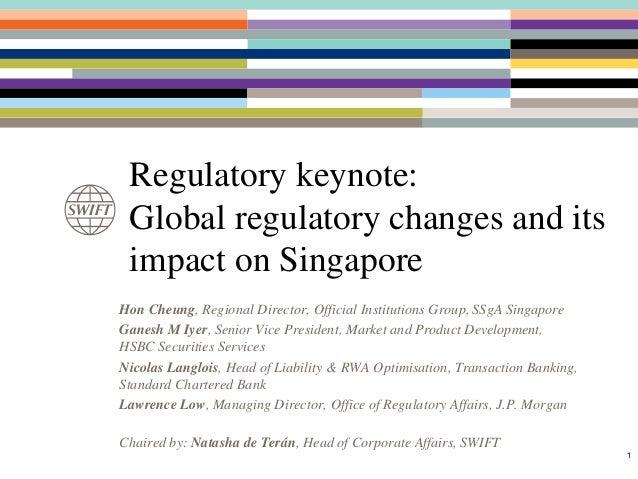 Hon Cheung, Regional Director, Official Institutions Group, SSgA Singapore Ganesh M Iyer, Senior Vice President, Market an...