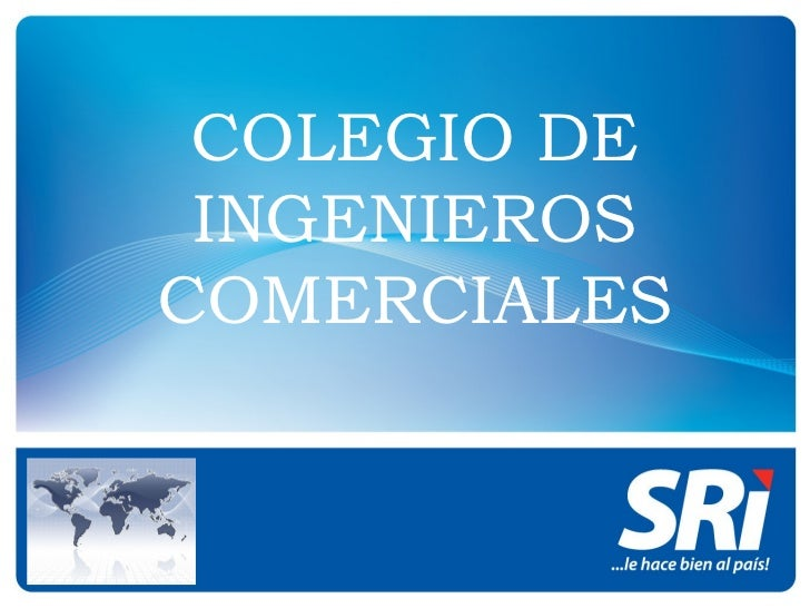 COLEGIO DE INGENIEROS COMERCIALES