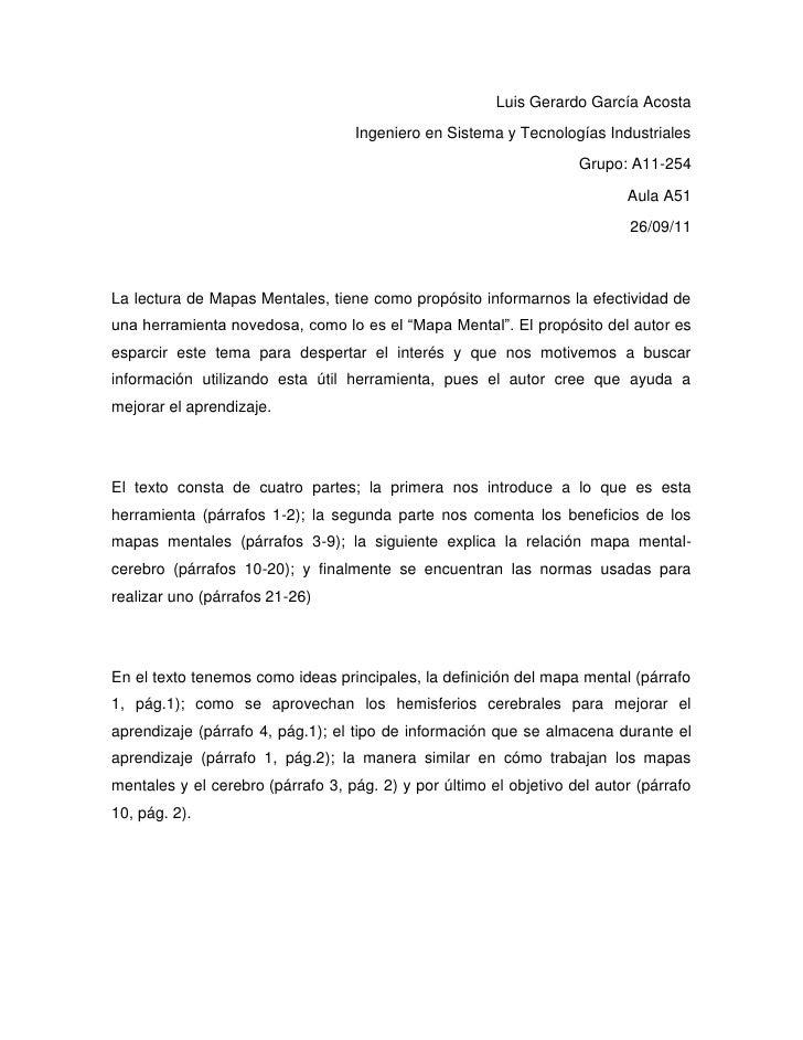 Luis Gerardo García Acosta<br />Ingeniero en Sistema y Tecnologías Industriales<br />Grupo: A11-254<br />Aula A51<br />26/...