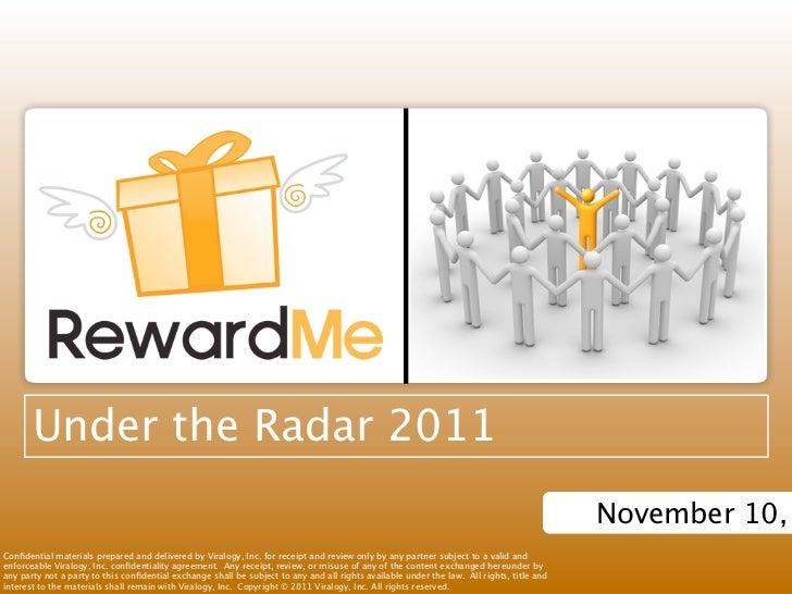 Under the Radar 2011                                                                                                      ...