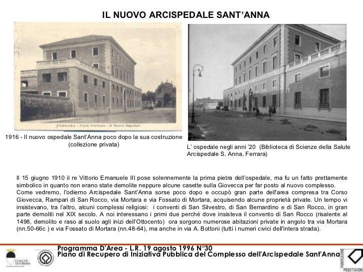 L'Arcispedale S. Anna: i conventi