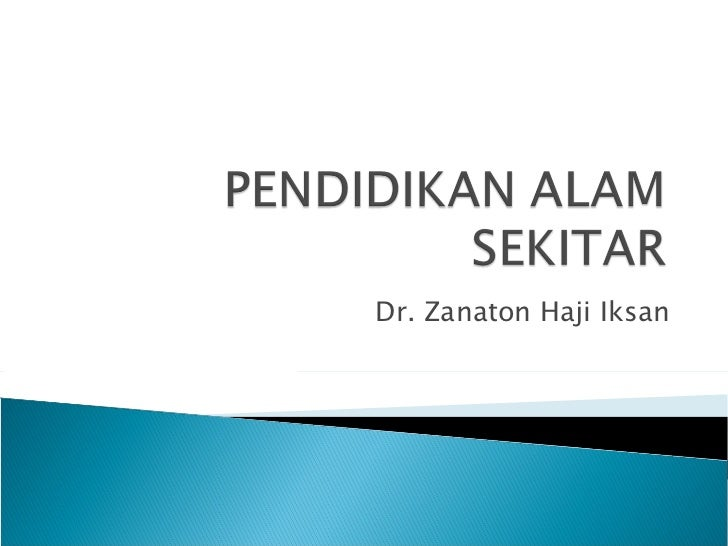 Dr. Zanaton Haji Iksan