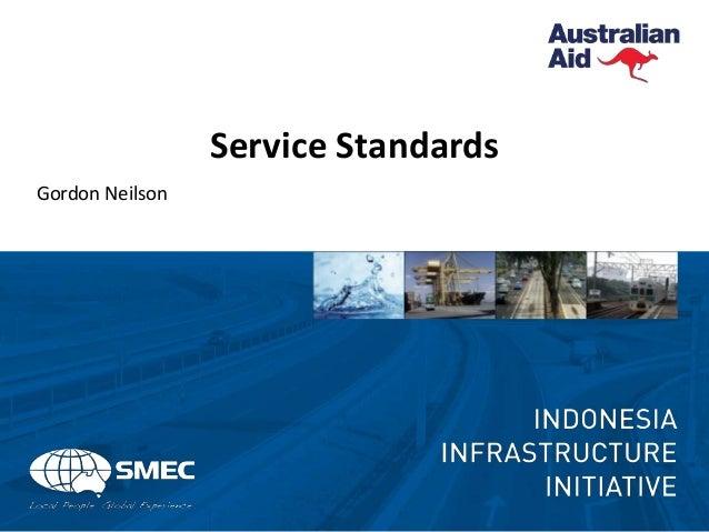 Service Standards Gordon Neilson