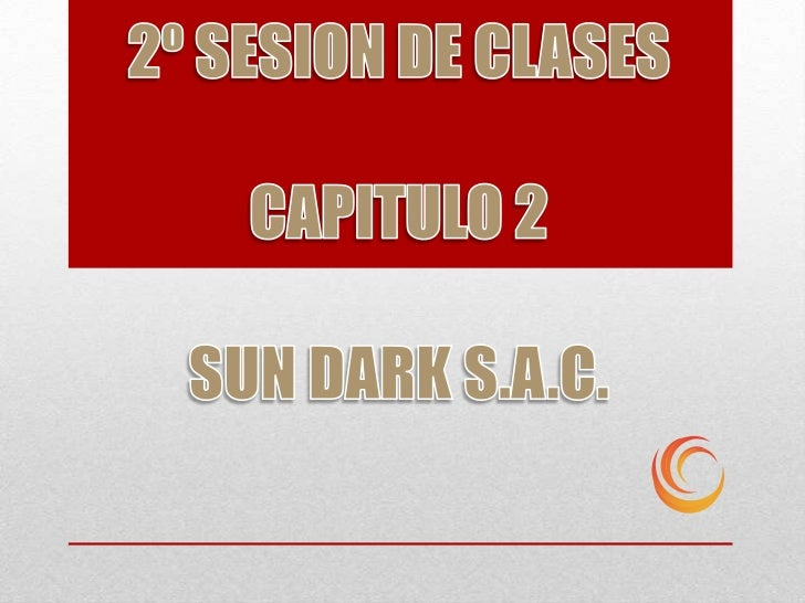 2º sesion de clases