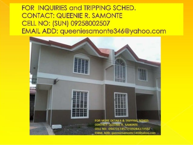 74 SQM TRIPLEX TOWNHOUSE IN CAVITE READY FOR OCCUPANCY