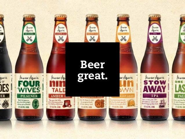 Beer great.