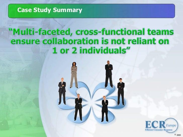 ECR Europe Forum '05. The Case for ECR