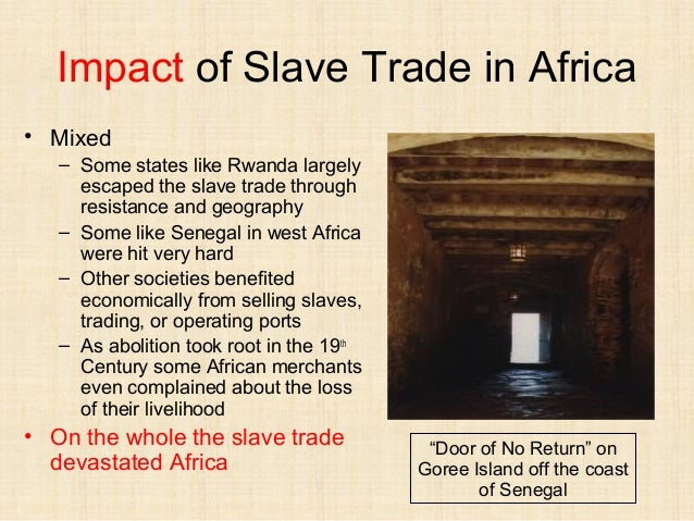 What would be a good topic on the Atlantic slave trade to research?