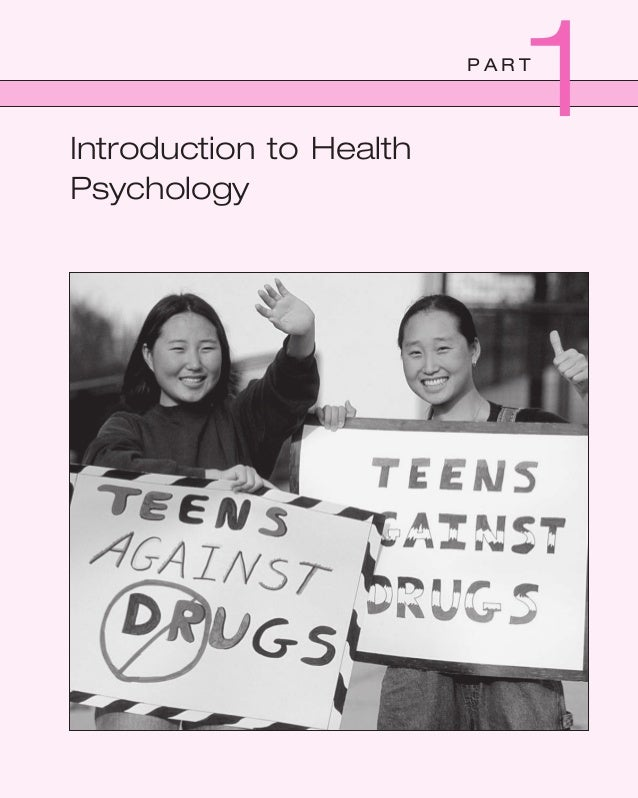 P A R T Introduction to Health Psychology 1 tay82728_ch01_001-016.indd Page 1 3/4/08 1:01:09 AM luxminarayantay82728_ch01_...