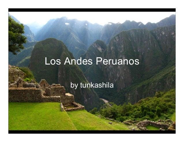 Los Andes Peruanos by tunkashila
