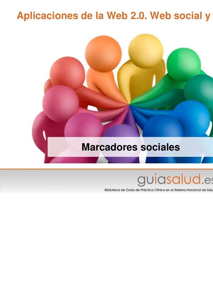 ¿Qué son los marcadores sociales? (actualización 2011)