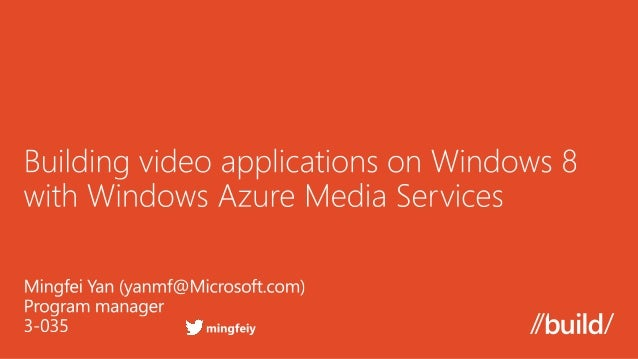    What is Windows Azure Media Services   Architecture and Features   SDK and REST API