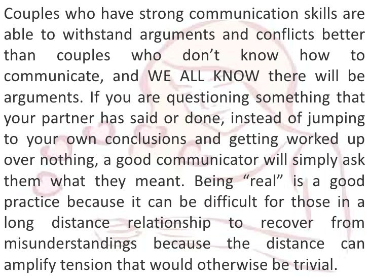 relationship advice on long distance marriages problems