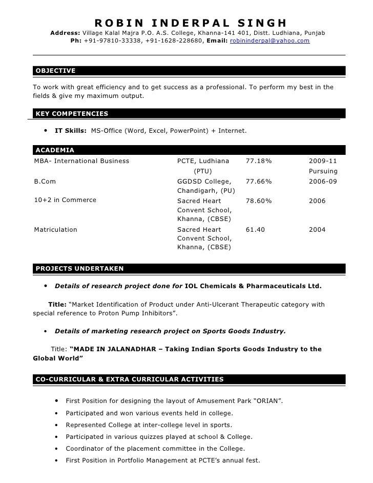 ROBIN INDERPAL SINGH        Address: Village Kalal Majra P.O. A.S. College, Khanna-141 401, Distt. Ludhiana, Punjab       ...