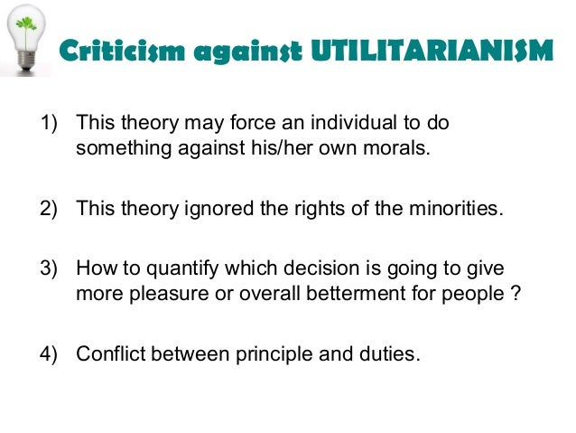 Essay on Views of Utilitarianism, Idealism and Democracy