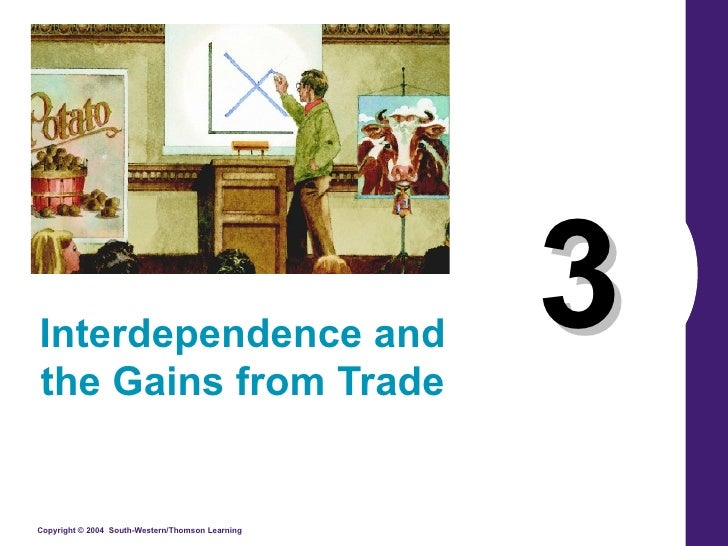 3 Interdependence and the Gains from Trade
