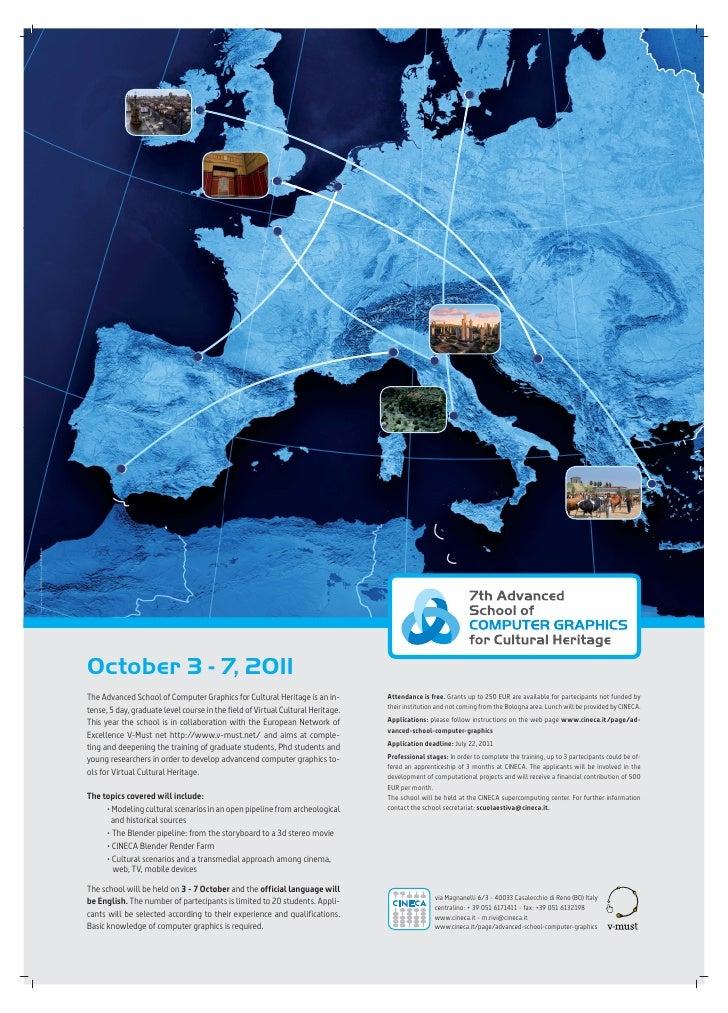 Coordinamento grafico Alterego - stampa PorporaStudio                                                        October 3 - 7...