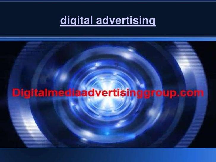 digital media advertising definition