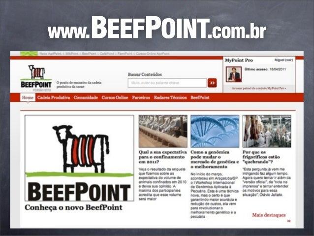 Tendências do Mercado do Boi eda Carne BovinaMiguel Cavalcantiwww.beefpoint.com.br   26 de novembro de 2012               ...