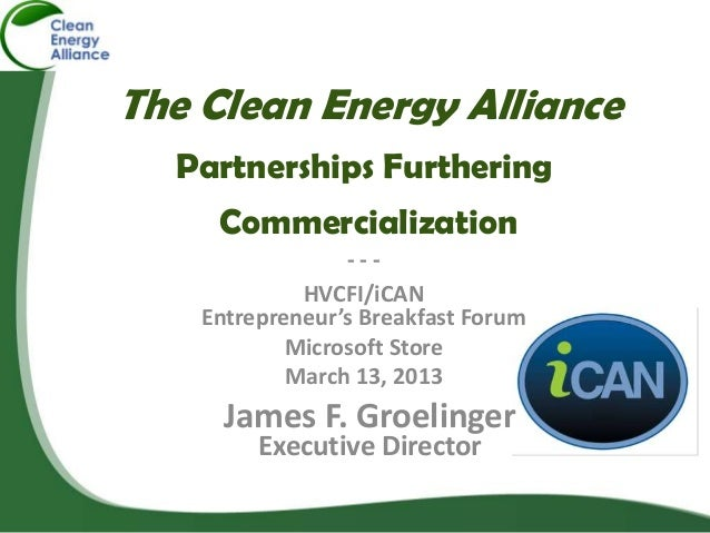 The Clean Energy Alliance