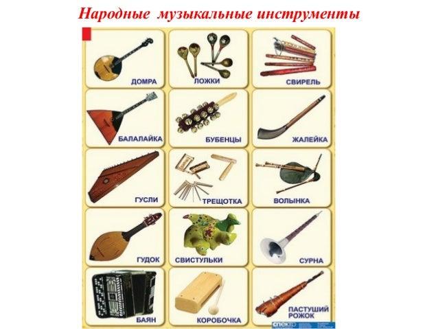 Музыкальные инструменты названия в картинках 1