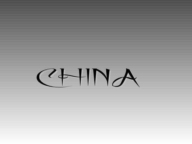 CHINACHINA