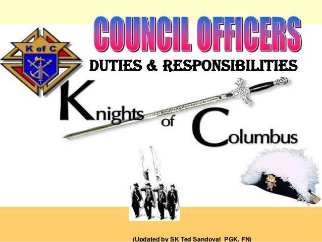 3. duties & responsiblities