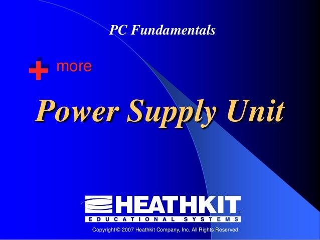 05. Power Supply Unit (PSU)