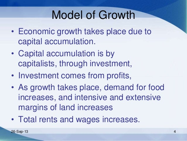 role of capital accumulation Advertisements: role of capital formation in economic growth of a country capital accumulation plays a crucial role in raising both output and employment.