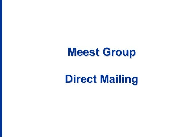 Meest Group Direct Mailing