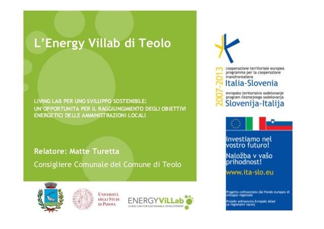 L'Energy Villab di Teolo