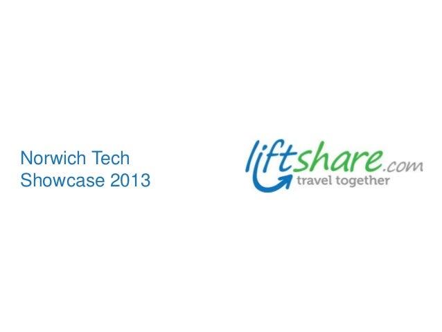 Norwich Tech Showcase 2013