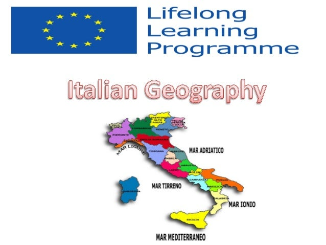 A boot shaped country • Geographically, Italy is a boot shaped peninsula extending into the central Mediterranean sea. • I...