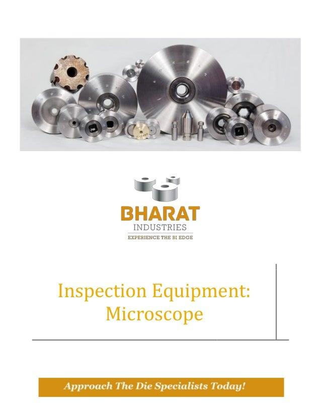 Inspection Equipment: Microscope